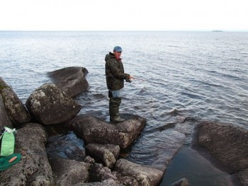 Рокфишинг на Черном море