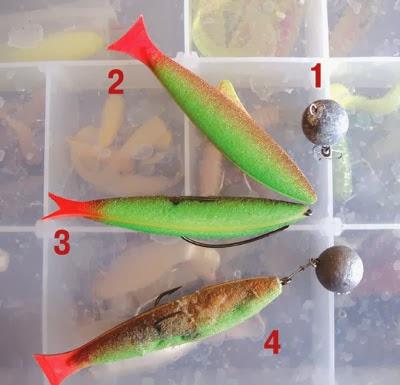 Ловля на поролоновую рыбку