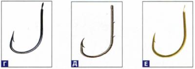 крючки для ловли леща и подлещика