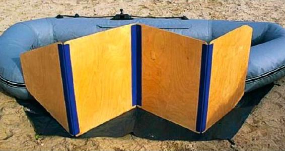 Самодельный пайол для надувной лодки