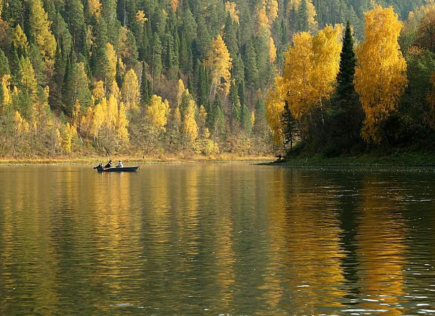 Рыбалка на реке Уфа