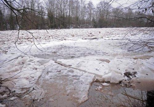 Зимняя рыбалка и колебания уровня воды