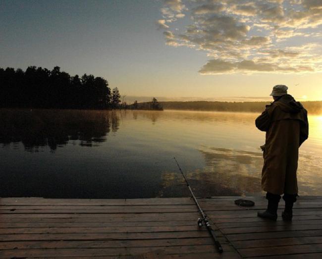 Рыбалка весной
