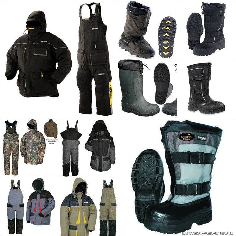 Утепляемся для зимней рыбалки – основные советы по выбору одежды