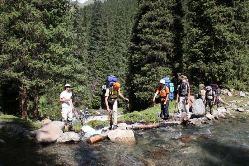 Безопасное преодоление трудностей на туристическом маршруте