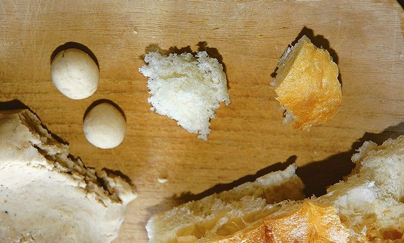 Рыболовные насадки. Хлебная галушка