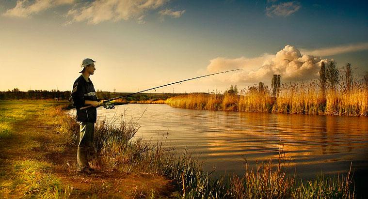 Ловля рыбы на незнакомом водоеме