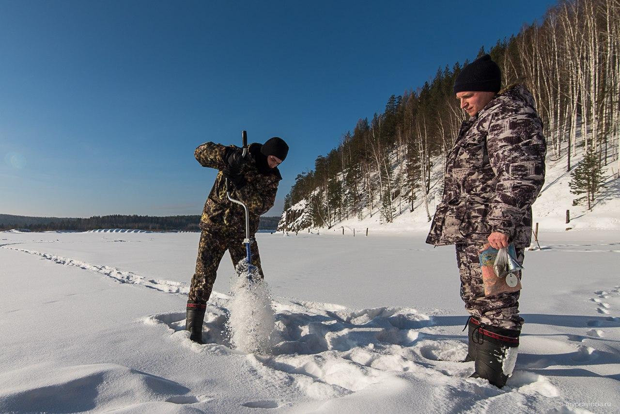 В поисках зимовальной ямы. Как найти зимнюю стоянку рыбы