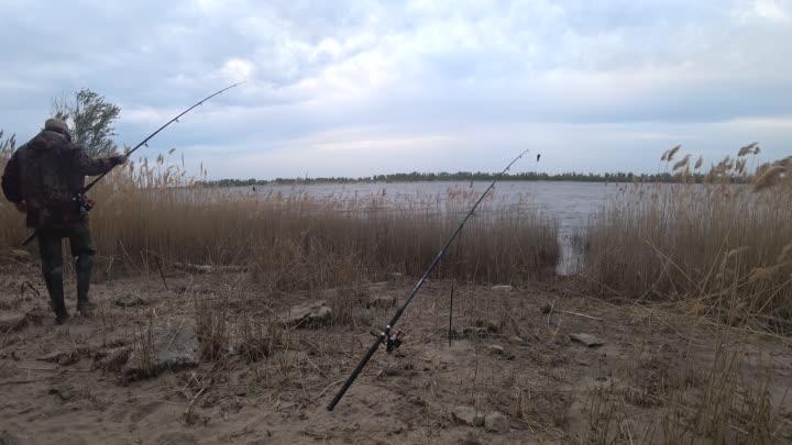 Рыбалка в ветреную погоду
