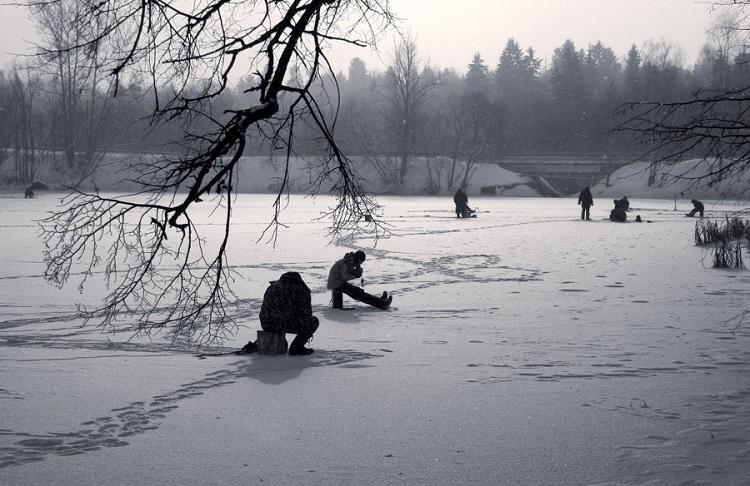 Поиск рыбных стоянок в зимний период