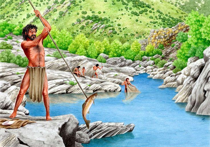 Как ловили рыбу древние рыбаки