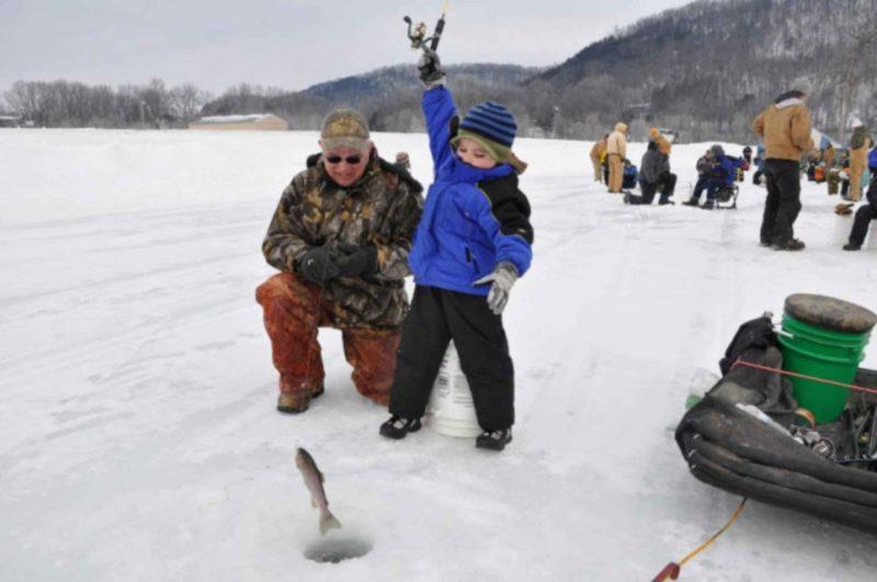 Рыбалка после Рождественских праздников
