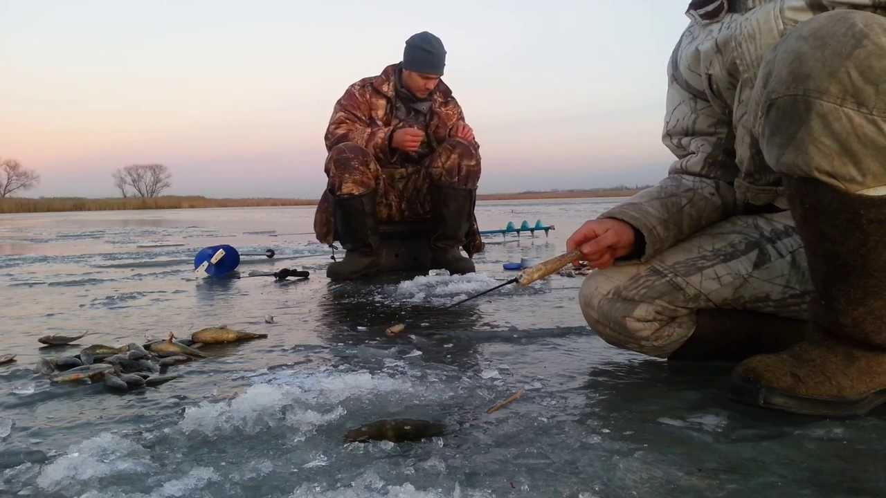 Мормышка по последнему льду