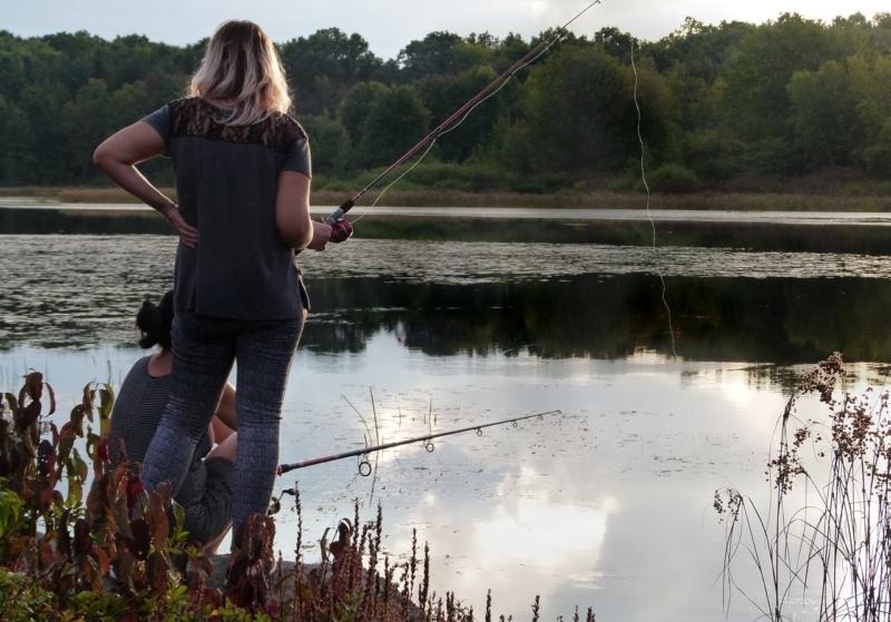 Разрушаем стереотипы: «Дорогой, я на рыбалку!»