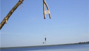 Ловля щуки на жерлицы на открытой воде
