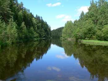 Поиск места ловли в реках