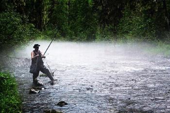 ловля рыбы в саянах