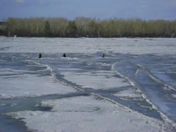 Опасный лед