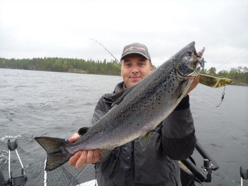 Ловля лосося в Финляндии