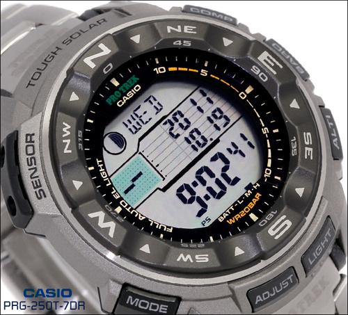 Casio - производитель часов для рыболова