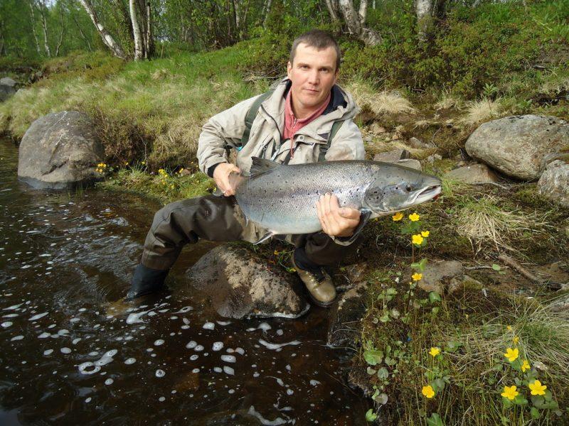 рыбалка на умбе