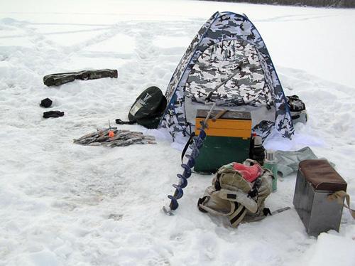 Снаряжение для подледной рыбалки