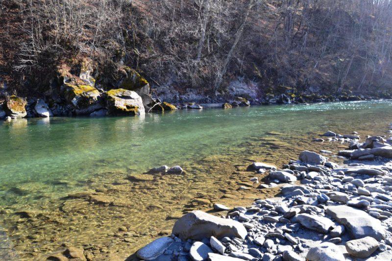 Рыбалка на реке Лаба