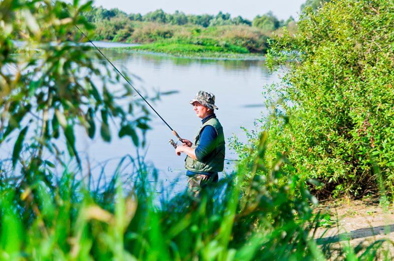 Рыбалка в жаркую погоду: некоторые особенности ловли в жару