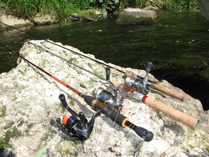 Выбираем спиннинг для рыбалки