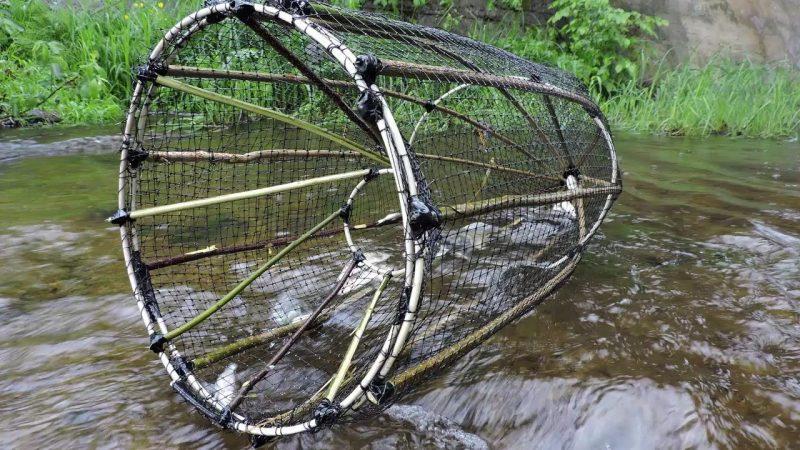 Немного о ловушках для пассивной ловли рыбы