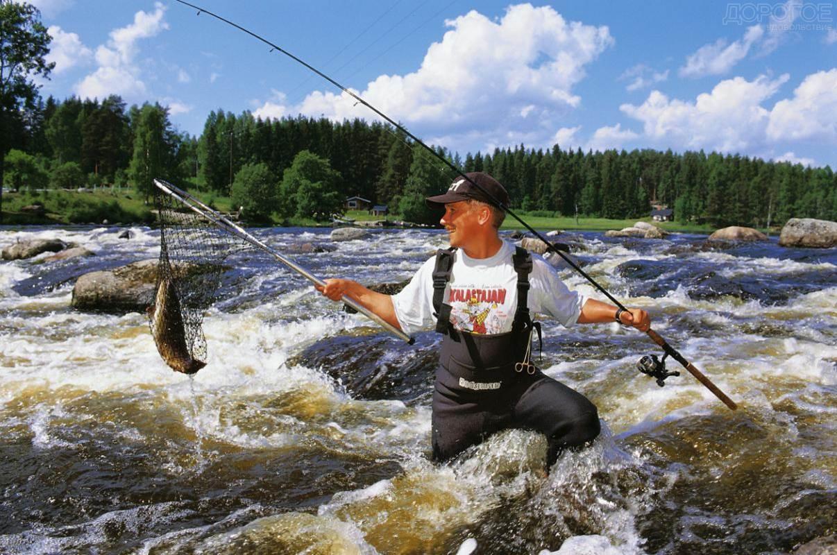 Самые красивые места для рыбалки