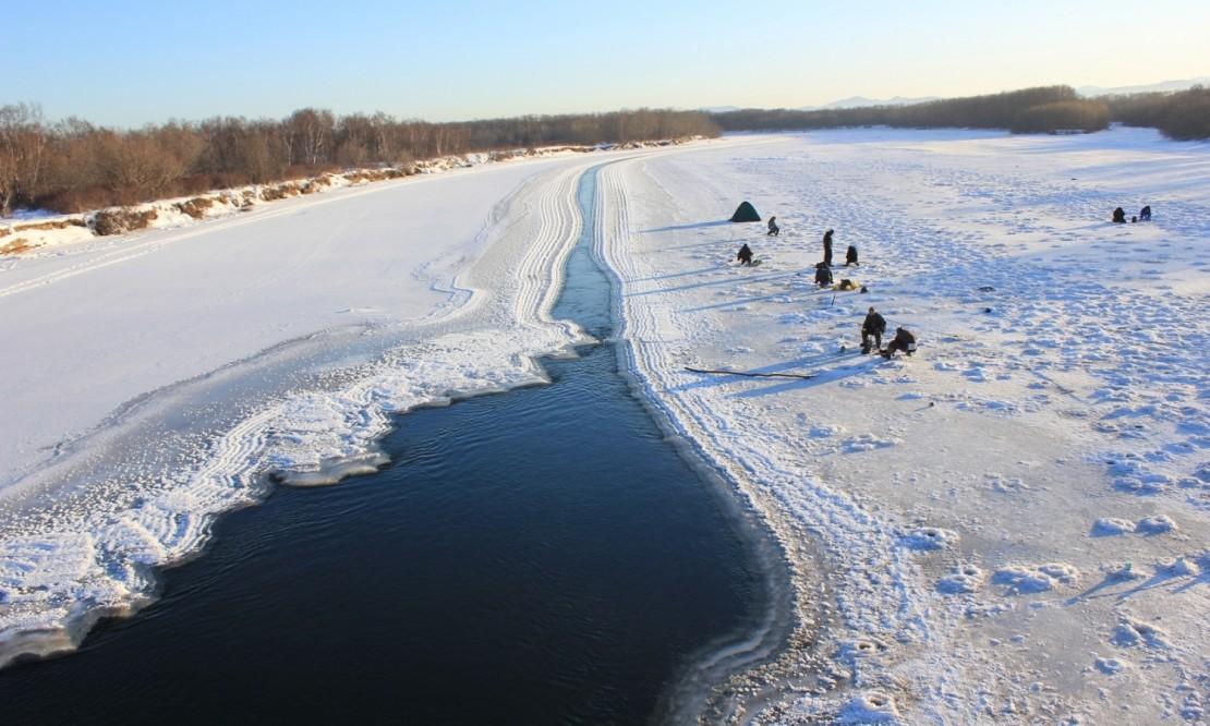 Экстремальная рыбалка в России