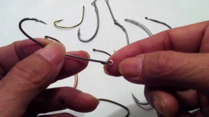 Особенности выбора рыболовного крючка
