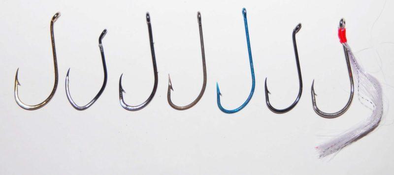 Выбор крючка для ловли рыбы