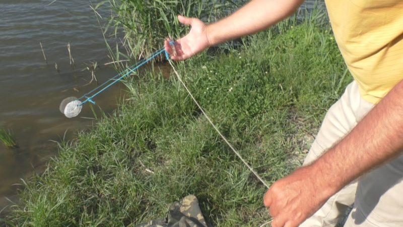 Снасть-резинка для ловли лещей
