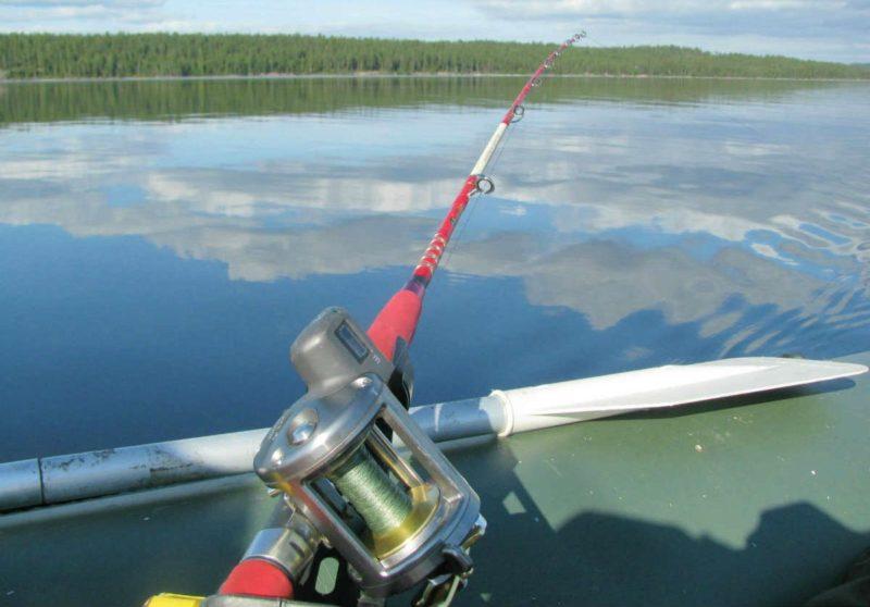 Выбор катушки для ловли с лодки