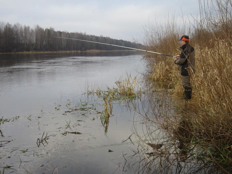 Накануне зимы: ловля по открытой воде