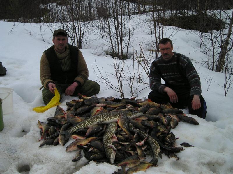 Рыболовный туризм: зимняя рыбалка в Карелии