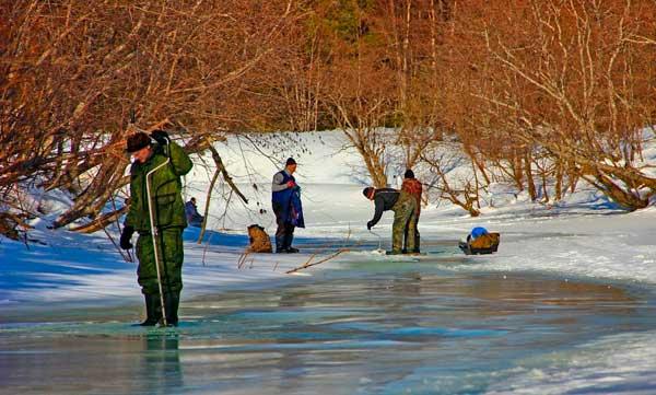 Особенности ловли рыбы в декабре
