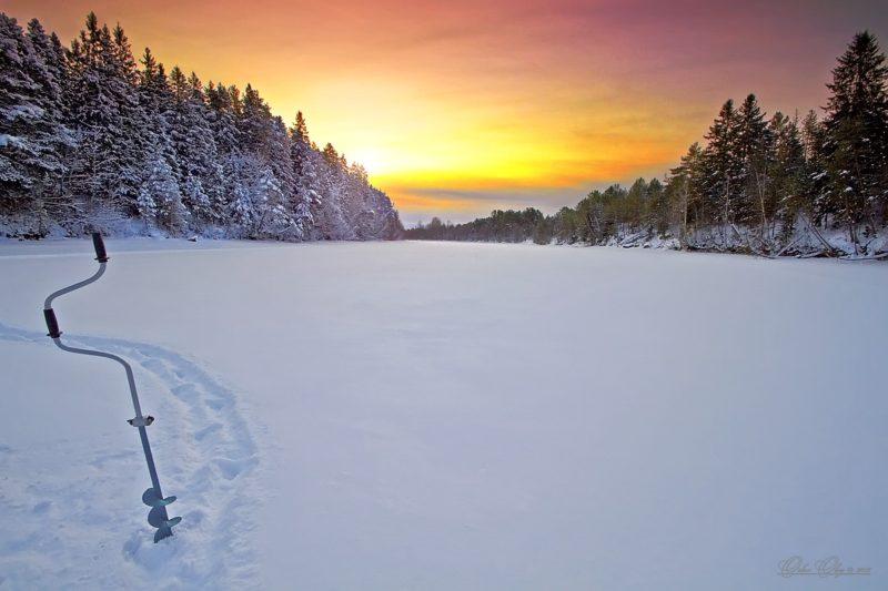 Влияние зимней погоды на рыбалку