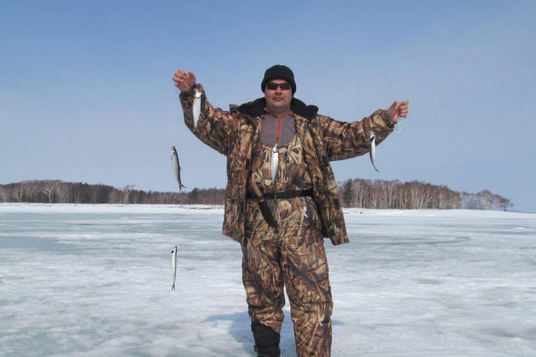 Ловля селедки со льда. Активный отдых на заснеженных просторах