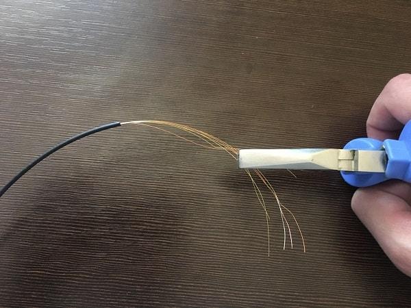Мастерим поводок из полевого кабеля