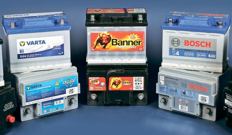Основные параметры при выборе аккумулятора