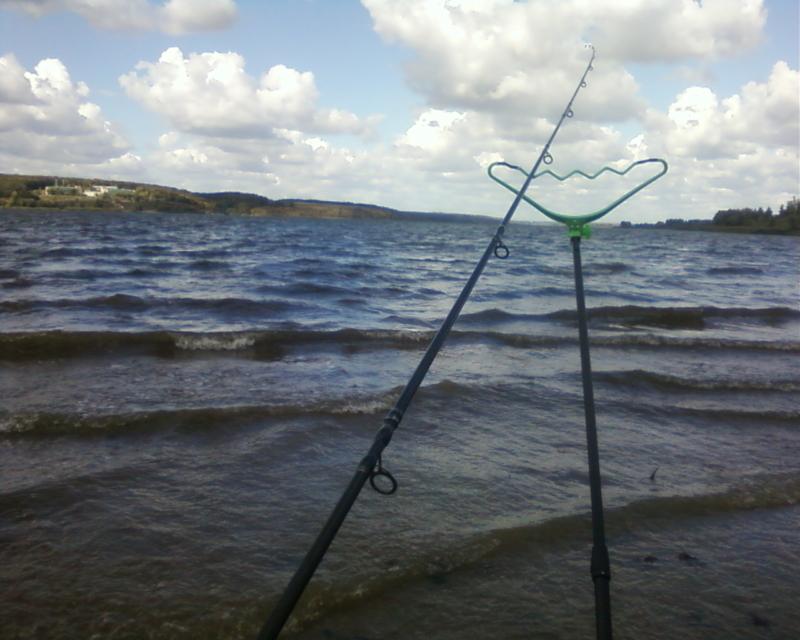 Рыбалка в ветер