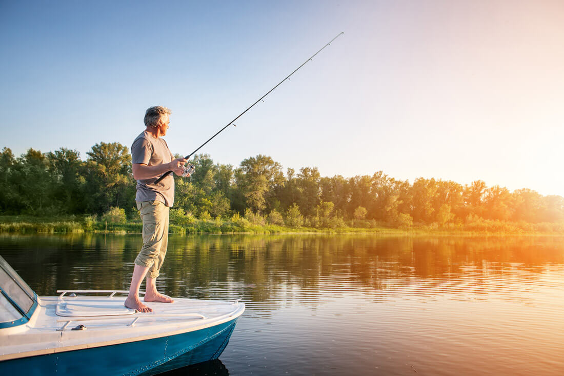 10 лучших рыболовных мест Тверской области