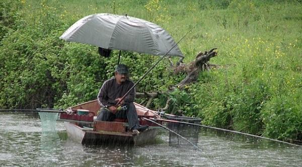 Советы по рыбалке в дождь