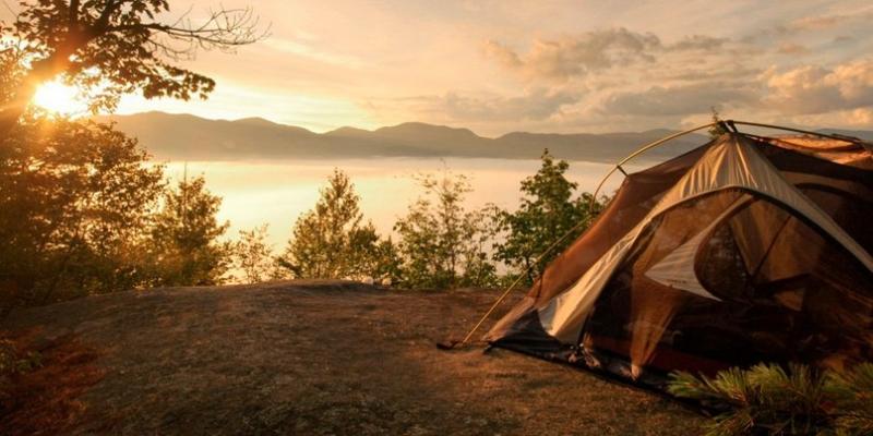 Как выбрать место под установку палатки