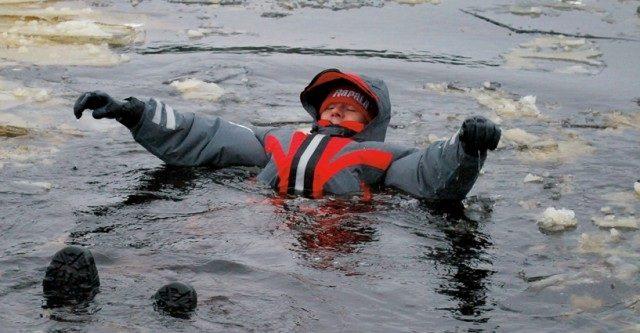 Костюмы-поплавки для зимней рыбалки