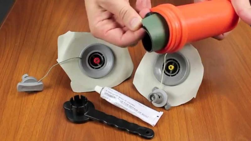 Клапан для надувной лодки - ремонт, замена, устройство клапанов