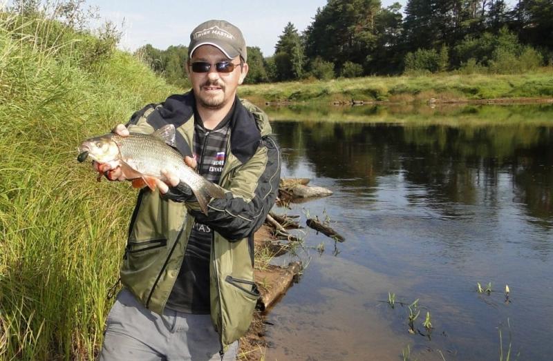 Ловля рыбы на Мологе